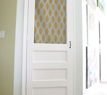 Making a Screen Door for Your Pantry