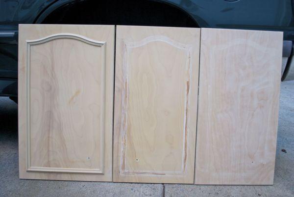 kitchen remodel black base cabinets bead baord backsplash open shelves dining room makeover (3)