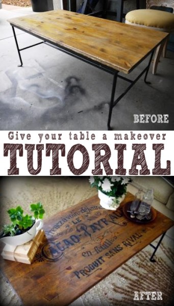 French Twist- Giving a Table a Vintage French Look! (1) copy