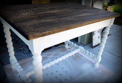 French Twist- Giving a Table a Vintage French Look! (12)