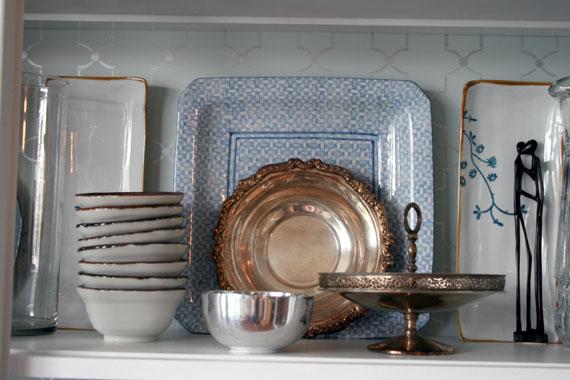 DIY Dish Display, @Remodelaholic