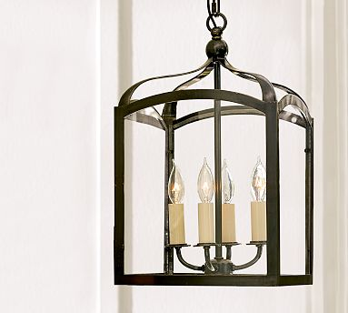 Remodelaholic Pottery Barn Knock Off Lantern Made From