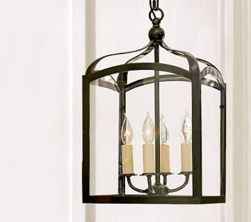 Pottery Barn Knock Off Lantern Made from Picture Frames!!