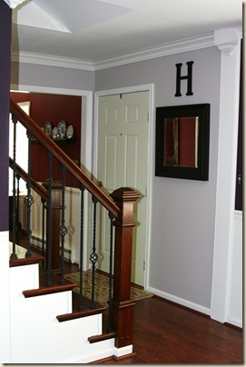 Open staircase Reveal