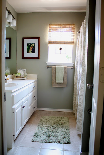 New and Improved Master Bathroom