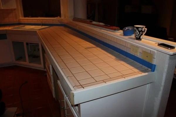 concrete countertops kitchen remodel