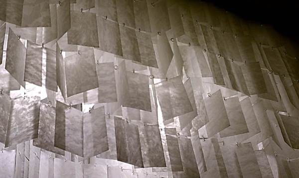diy faux capiz chandelier 35