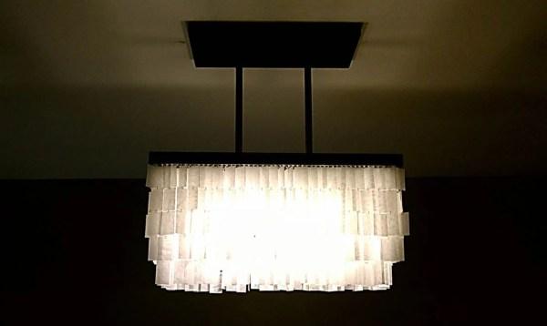 diy faux capiz chandelier 37