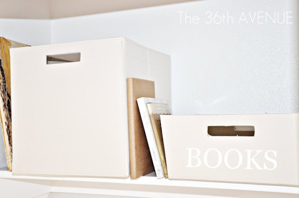 16 How To Keep The Top Of A Closet Organized By The 36th Avenue Featured On @Remodelaholic