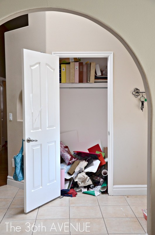 2 What To Do About The Mess In Your Closets By The 36th Avenue Featured On @Remodelaholic