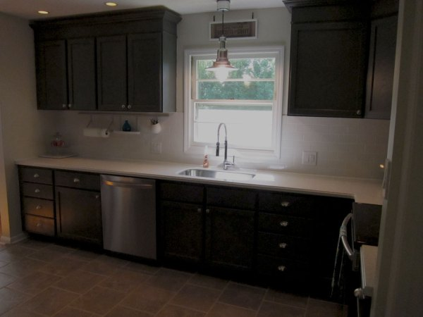 Charcoal Grey Kitchen Cabinets (6)