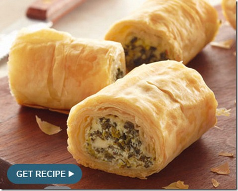 Phyllo-spinach-roll-up-recipe