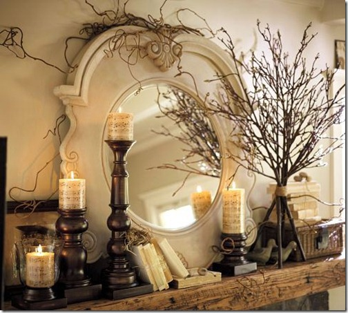 mantel-decor