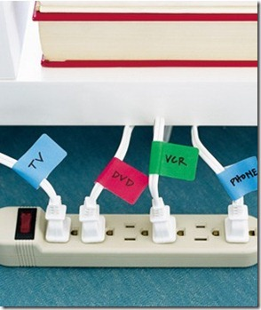 labels for your cords