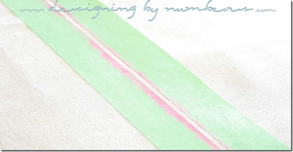 Continue Measuring and Painting Stripes