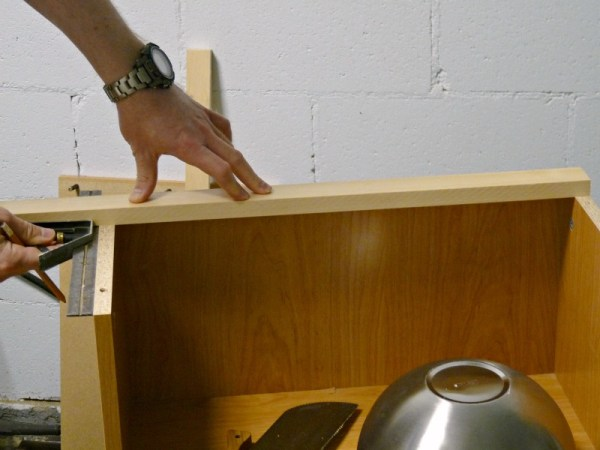 Play Kitchen From Microwave Stand (4)