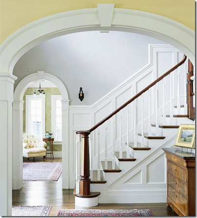 board and batten staircase