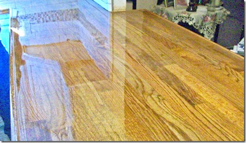 butcher block countertops created with hardwood flooring 3