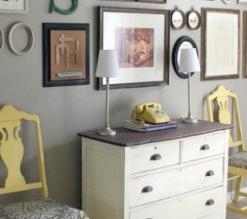 Home Sweet Home on a Budget:  Simple Entryways