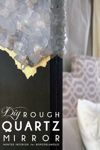 DIY Rough Quartz Mirror Tutorial2
