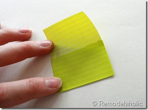 Chevron Stripe Duct Tape Belt Tutorial (4)