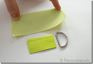Chevron Stripe Duct Tape Belt Tutorial (6)