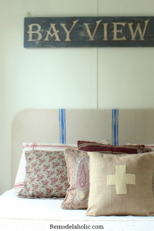 Awesome Headboards You Can Make Yourself Featured On @Remodelaholic