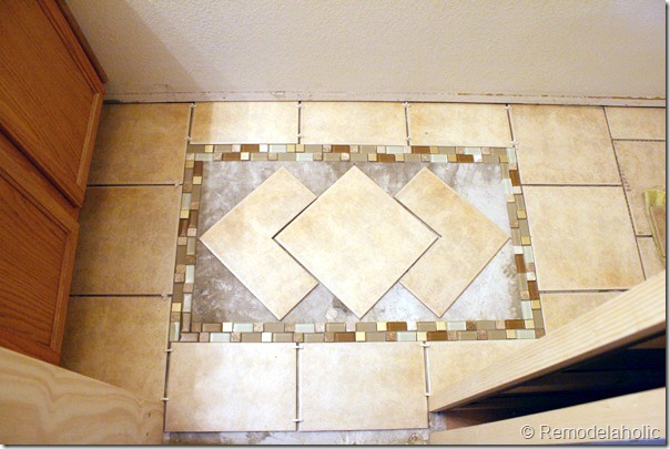 Inlaid tile rug tutorial (12)