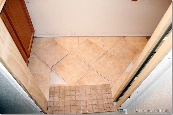 Inlaid tile rug tutorial (6)