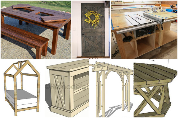 Best Selling Woodworking Plans For Beginners #remodelaholic