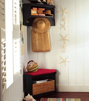 Marvelous Mini Mudroom Corner Storage Bench Ibusinesslaw Wood Chair Design Ideas Ibusinesslaworg