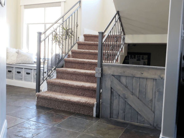 Barn Door Baby Gate Free Building Plans From Remodelaholic