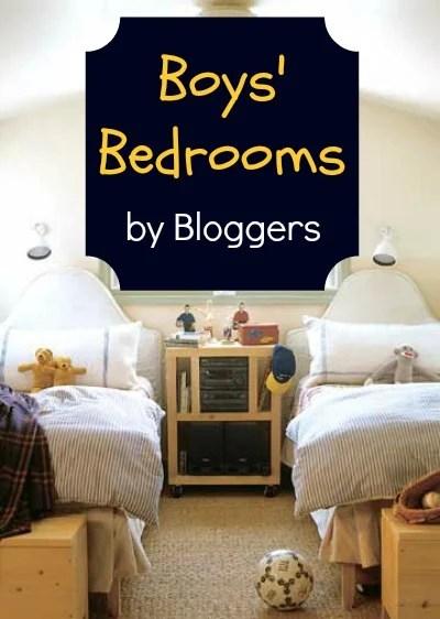 Boys' Bedrooms Pinterest Pic
