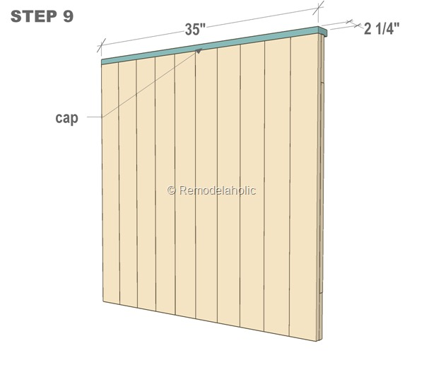 DIY Barn Door Baby Gate for Stairs STEP 9