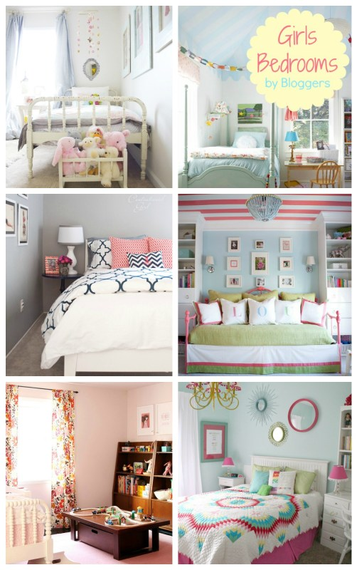 Remodelaholic Home Sweet Home On A Budget Girls 39 Bedrooms And A Linkup