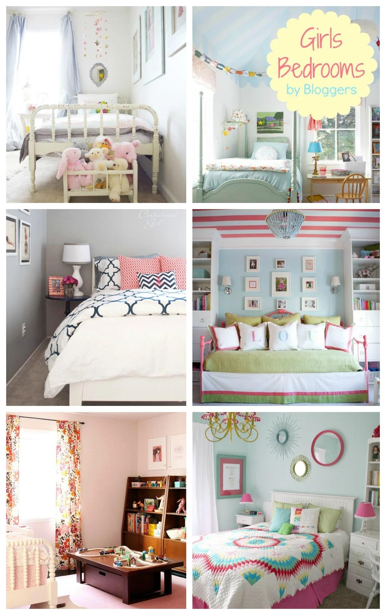 Great Girl Bedroom Ideas For Real Life Kids! #bedroom #design #girls