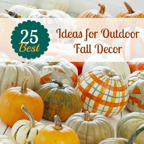 Diy Fall Decor Ideas  Outdoors Fall Decor  YouTube