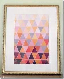 paint chip frame