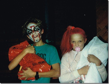 Justin and Heidi Halloween 1989