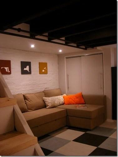 21 Port basement after