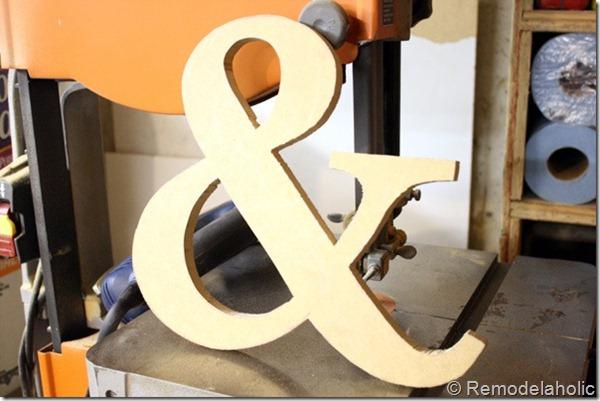 7 ampersand cutout tutorial