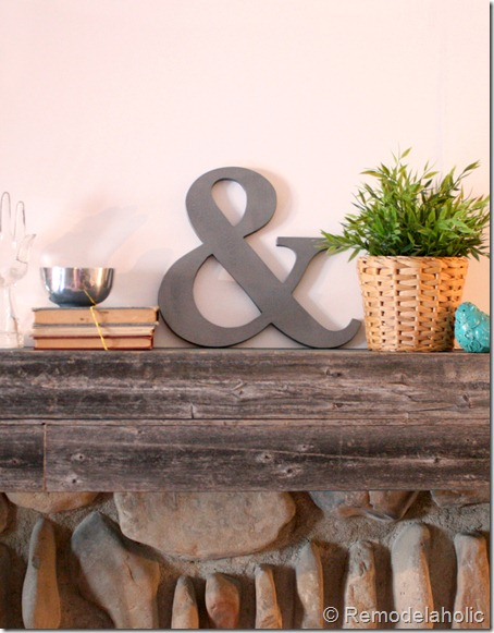 DIY Ampersand decoration2