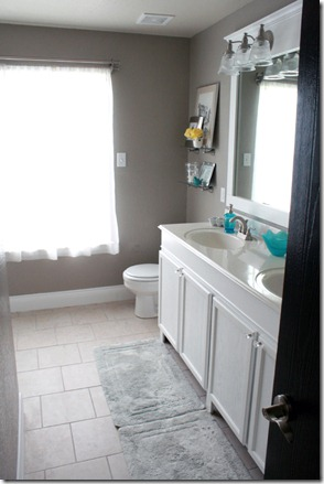 How to Add height to a short bathroom vanity (53)