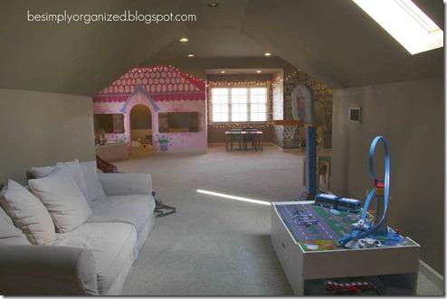 Simply Organized clean floor