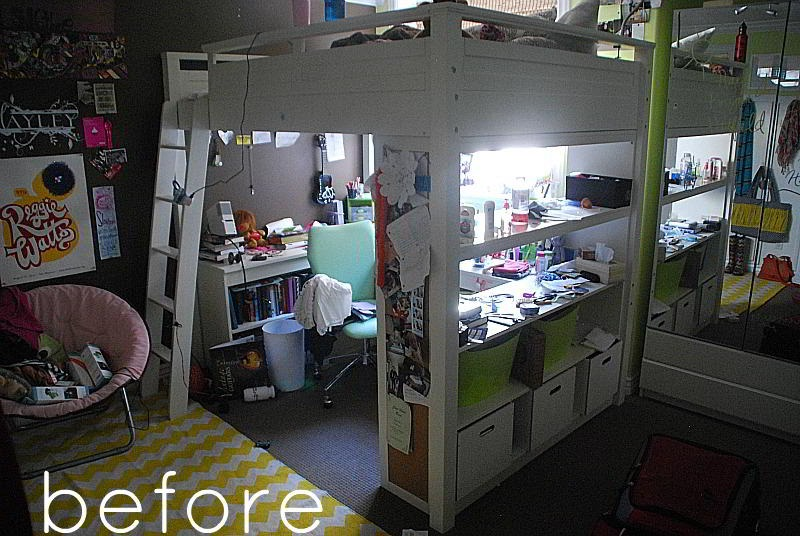 Remodelaholic   Home Sweet Home on a Budget: Bloggers ... on Teenager Basement Bedroom  id=37844