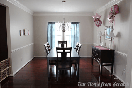12 dining room before wainscoting remodelaholic
