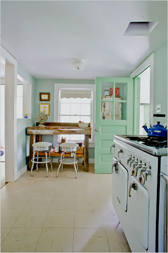 House of Turquoise back door