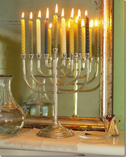 Martha Stewart Hanukkah Candles