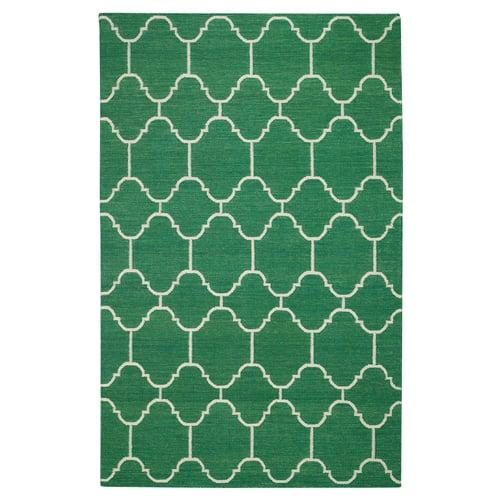 Posh Tots green rug