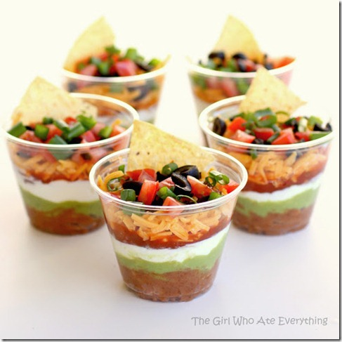 The girl who ate everything 7 layer dip
